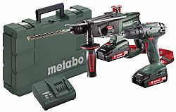 Metabo 18 Volt Combo Set Μπαταρίας 2.3.4 18 V SB18 & KHA18LTX
