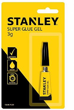 Κόλλα SUPER GLUE GEL 3gr STANLEY