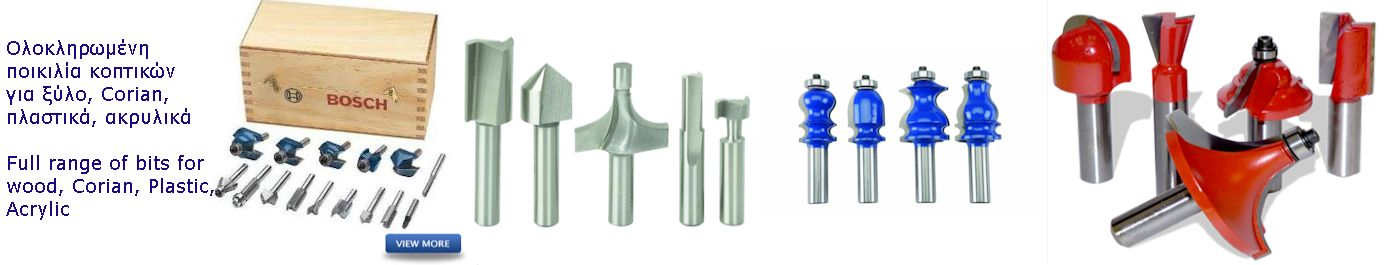 Banner Router bits